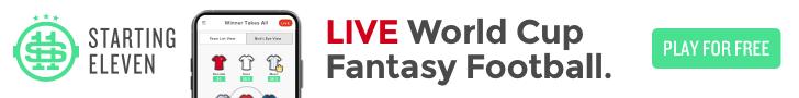 World Cup Daily Fantasy Football - Starting 11
