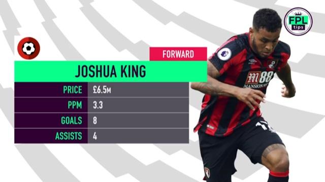 Josh Kingg - Bournemouth FPL