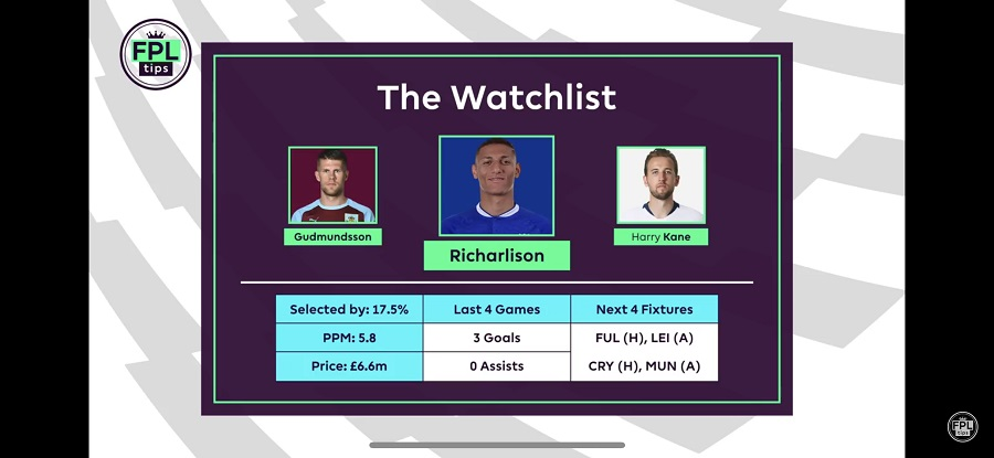 FPL Gameweek 7 - Richarlison