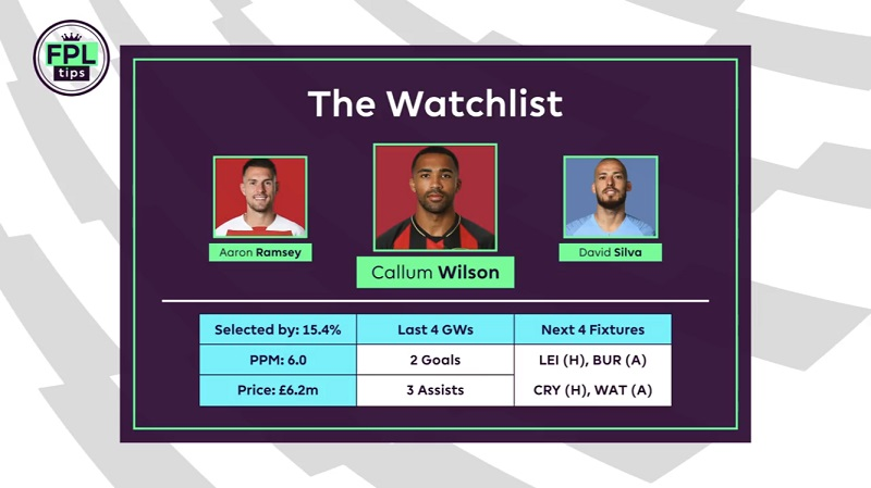Callum Wilson - Wildcard Tips - Gameweek 5