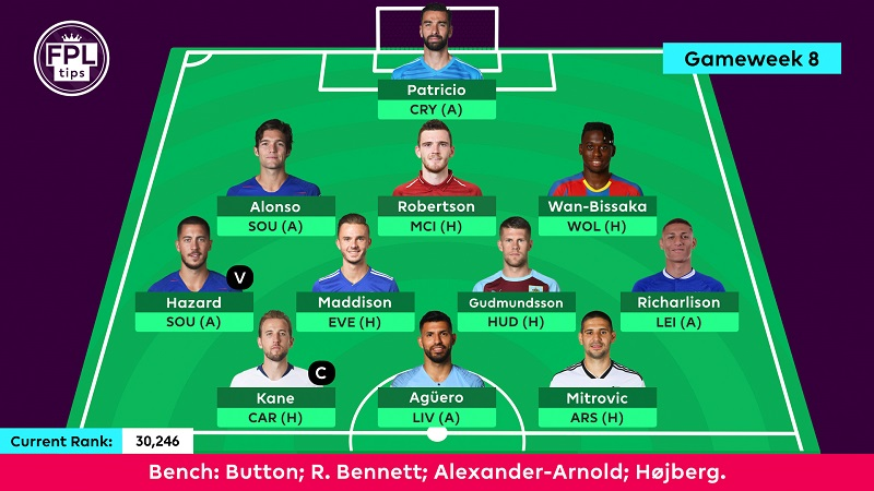 Gameweek 8 FPL tips and picks