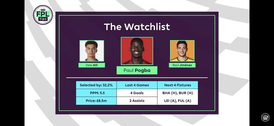Paul Pogba - FPL Gameweek 23