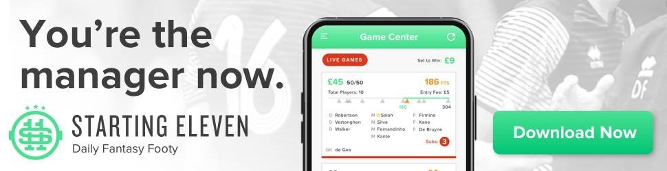 starting11.io - live daily fantasy premier league football app