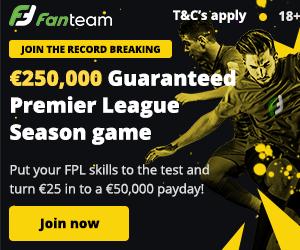 FPL Cash League - 250K prize money from FanTeam