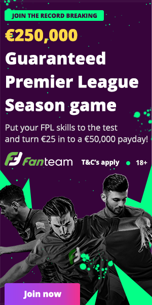250,000 euro FPL Cash League buy FanTeam