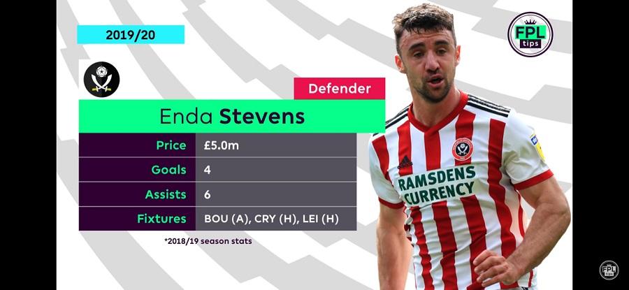 Enda Stevens - FPL Defenders