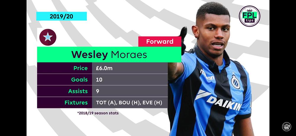Wesley Moraes - FPL Strikers Aston Villa