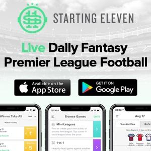 Starting 11 - Daily Fantasy Premier League Football