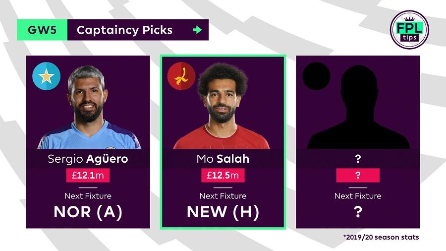Mo Salah - Gameweek 5 Captain Pick
