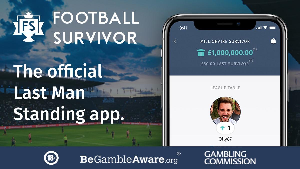 Football Survivor - The Last Man Standing App