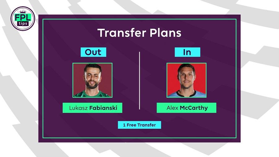 FPLTips Transfers - Gameweek 23
