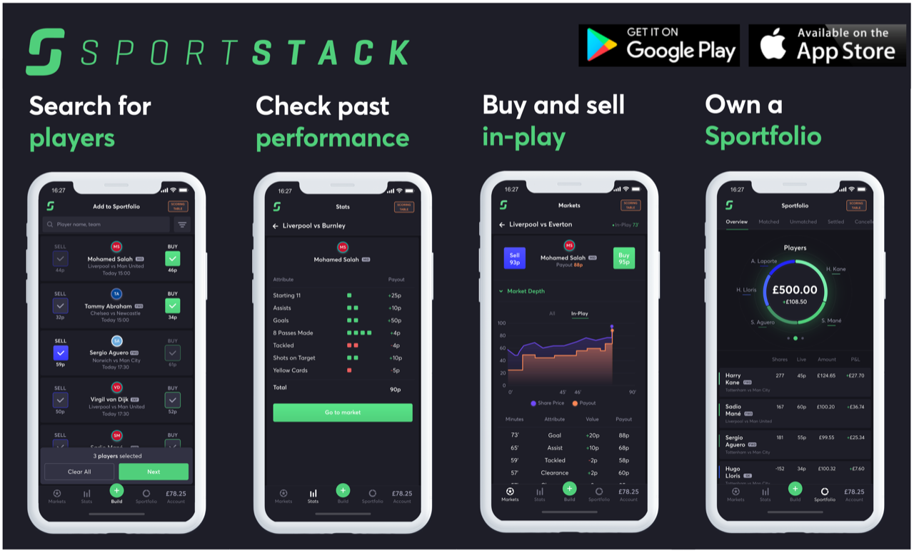 Put your FPL skills to the best by buying shares in Fantasy Premier League players on SportStack