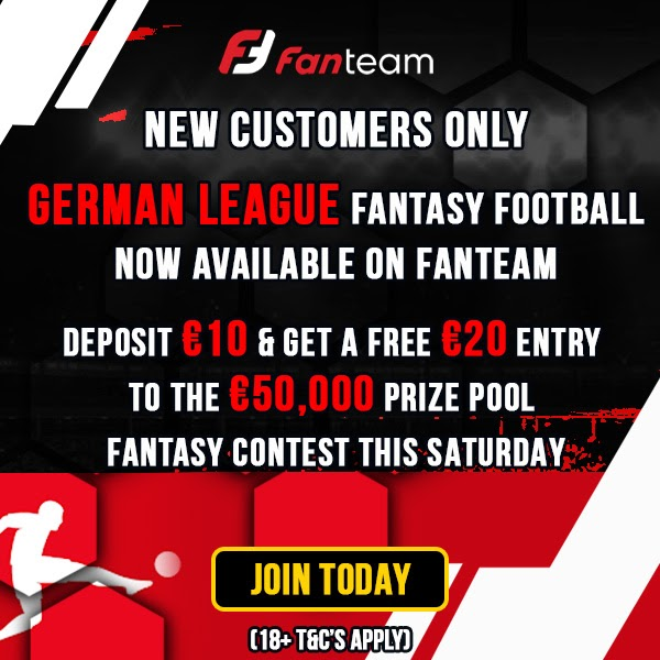 fantasy bundesliga cash games and league on fanteam.com