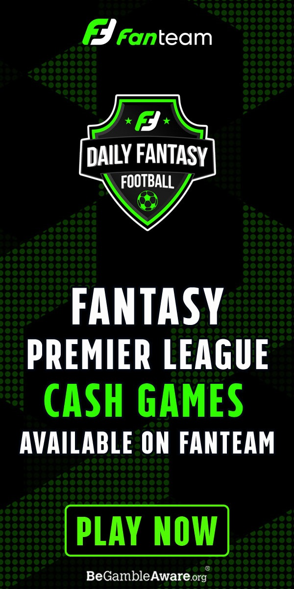 daily fantasy premier league cash games on fanteam.com