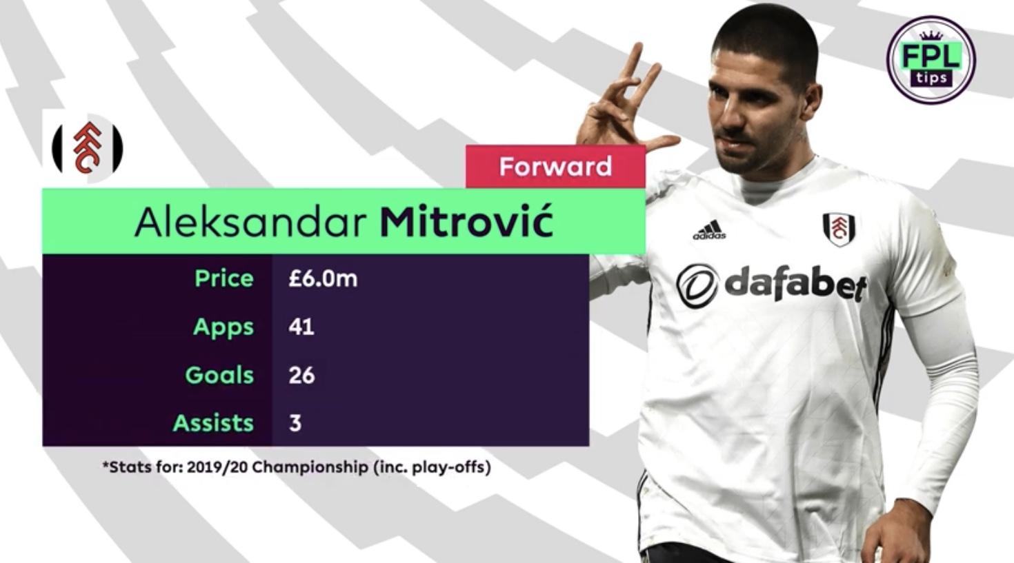 Mitrovic Fulham FC - FPL Tips