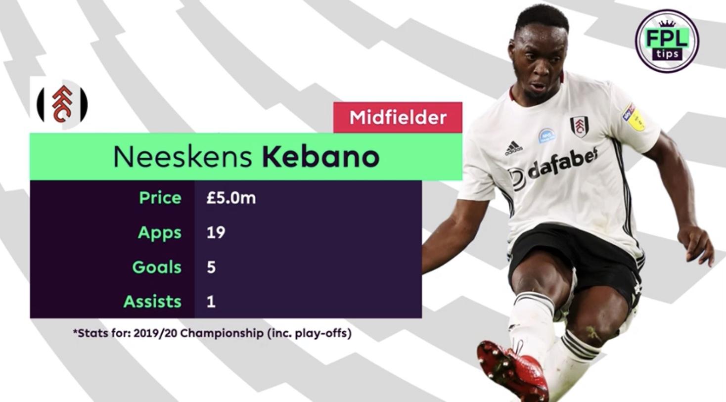 Kebano Fulham FC - FPL Tips