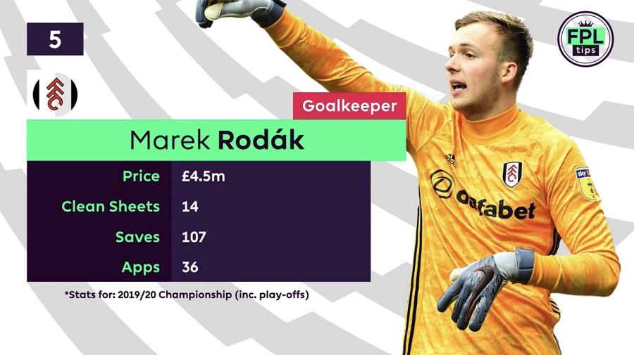 FPL Goalkeepers Tips - Rodak