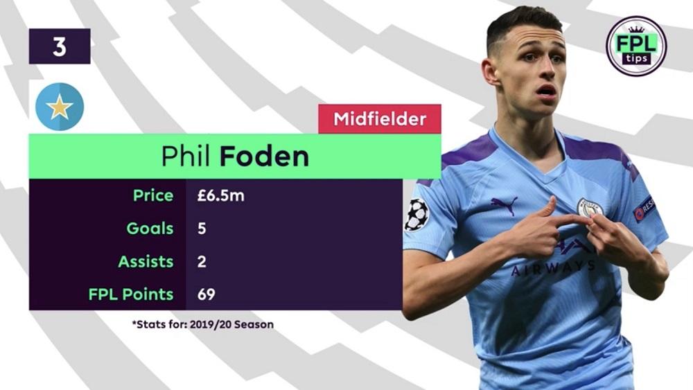 FPL Tips - Midfielders - Phil Foden