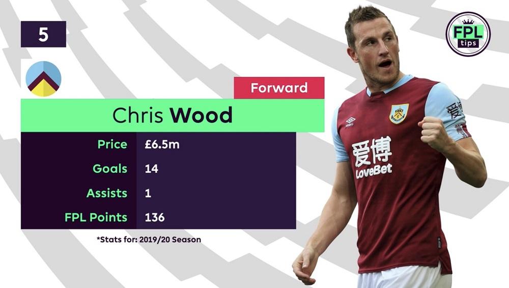 FPL Tips - Forwards - Chris Wood - Burnley