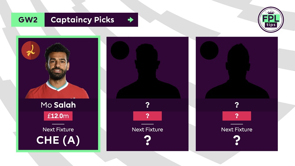FPLTips - Gameweek 2 Captain Tips - Mo Salah