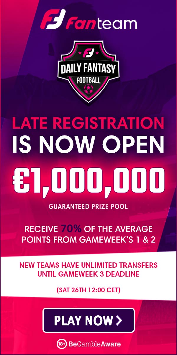 fanteam million late registration