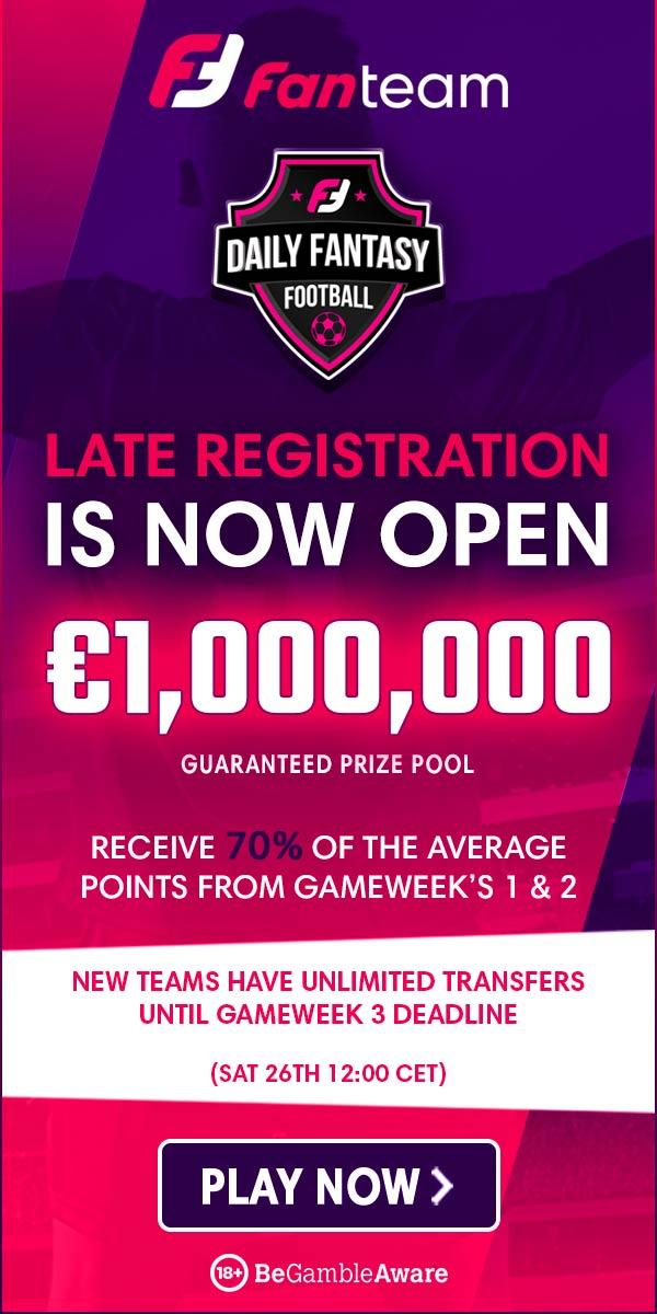 fanteam million late registration