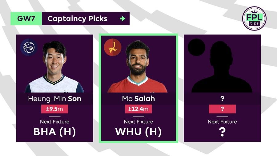 FPL Captain Tips and Picks for Gameweek 7 - Mo Salah