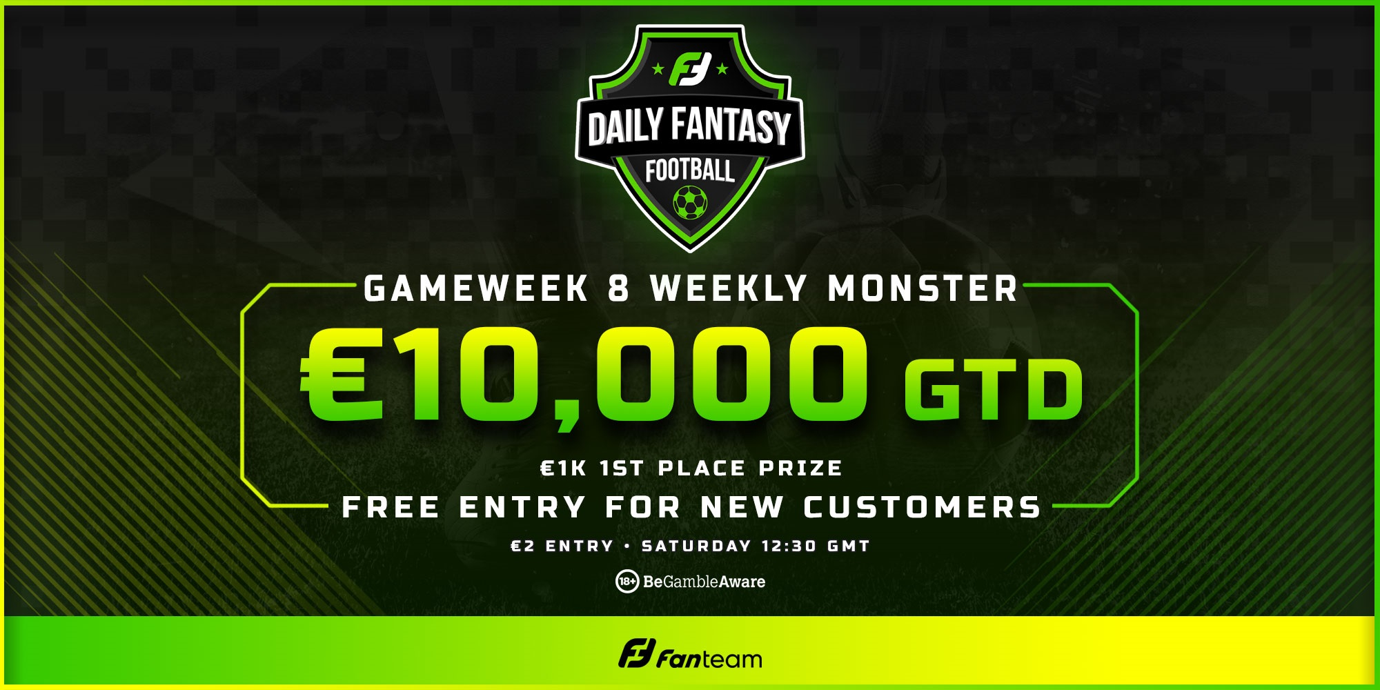 fanteam weekly monster free entry