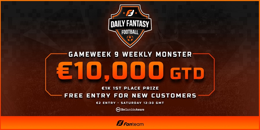 Fanteam Weekly Monster Gameweek 9
