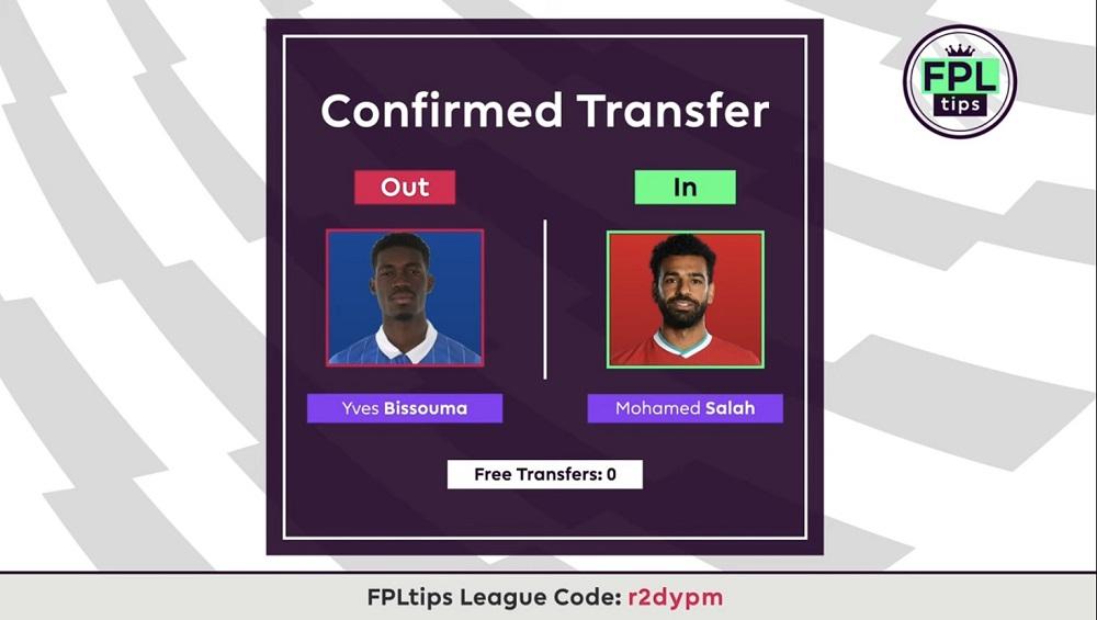FPLTips Gameweek 15 Transfers - Mo Salah