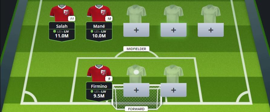 FanTeam Champions League - Leipzig vs Liverpool