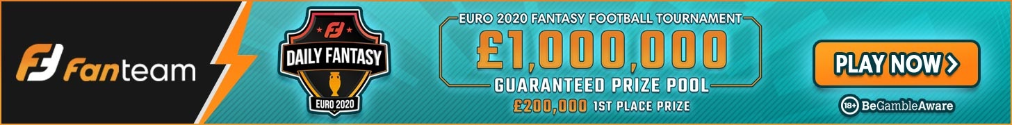 Euro2020 fantasy football on fanteam