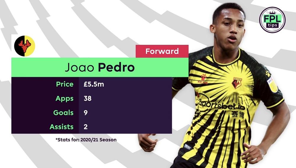 watford - Joao Pedro - FPL tips