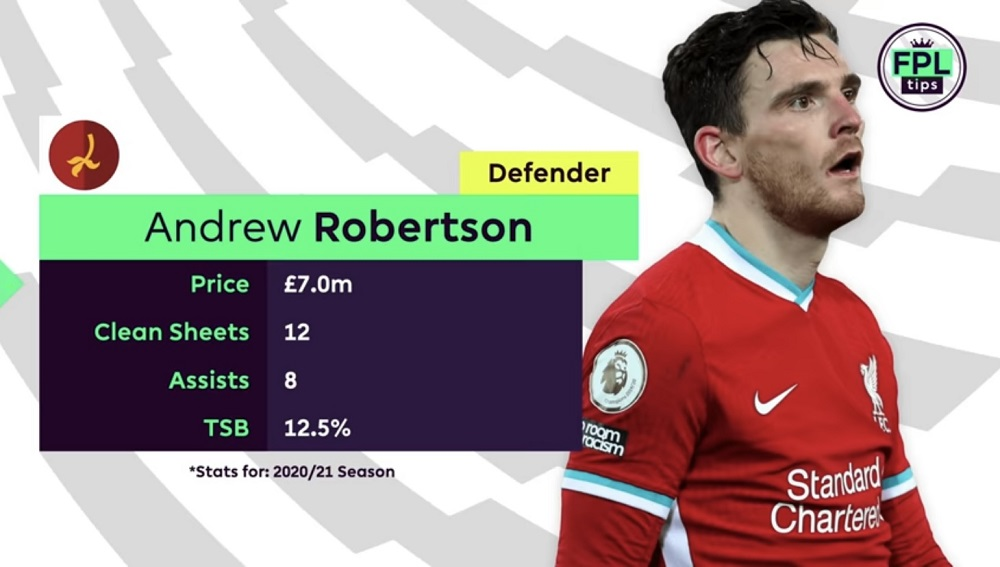 FPL TIPS - GAMEWEEK 1 DIFFERENTIALS - ANDREW ROBERTSON LIVERPOOL