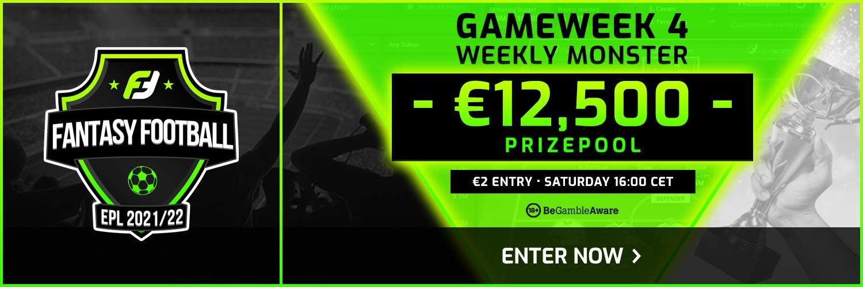 fanteam weekly monster - gameweek 4